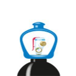 alphagaz™ 1 nitrogen flaske smartop l50