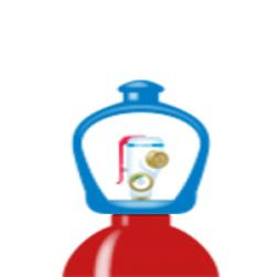 arcal™ 15 flaske smartop l50